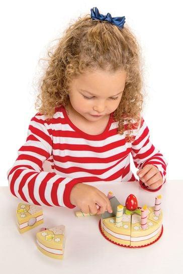 Le Toy Van Wooden Vanilla Birthday Cake