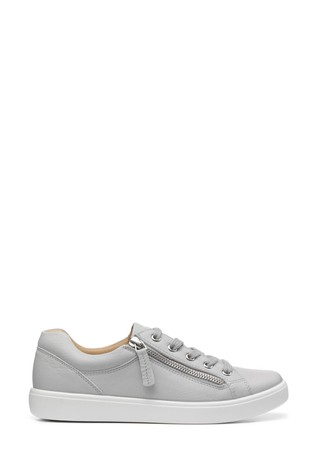 Hotter Chase Extra Wide Fit Lace-Up/Zip Deck Shoes
