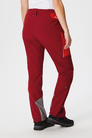 Regatta Red Womens Mountain Trousers