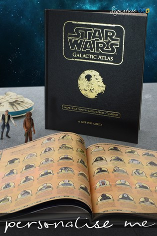Personalised Star Wars™ Galactic Atlas by Signature Book Publishing