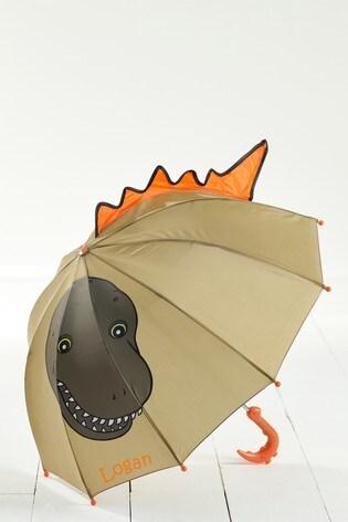 Personalised Dinosaur Umbrella by Loveabode
