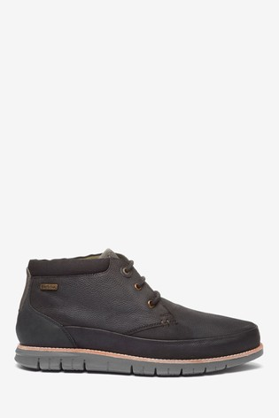 Barbour® Black Nelson Chukka Boot