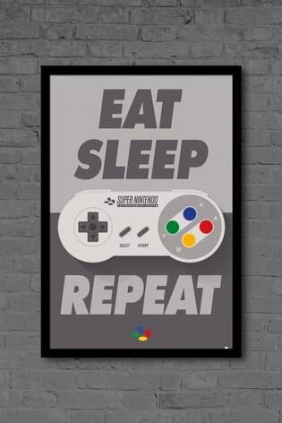 Pyramid International Nintendo Framed Poster