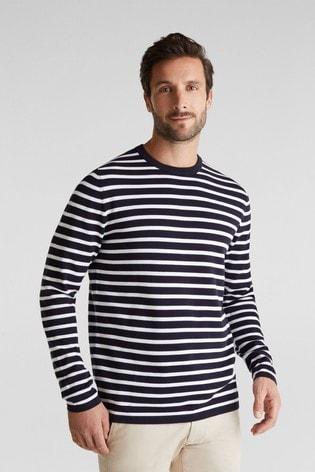 Esprit 100% Organic Cotton Striped Jumper