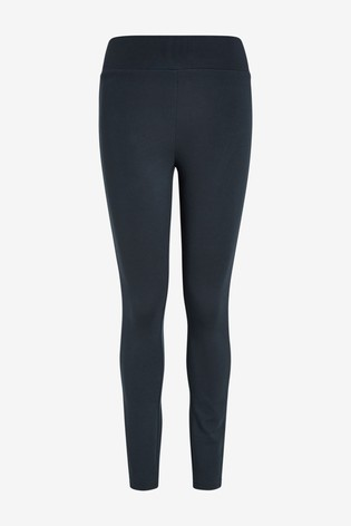 Navy Ponte Leggings