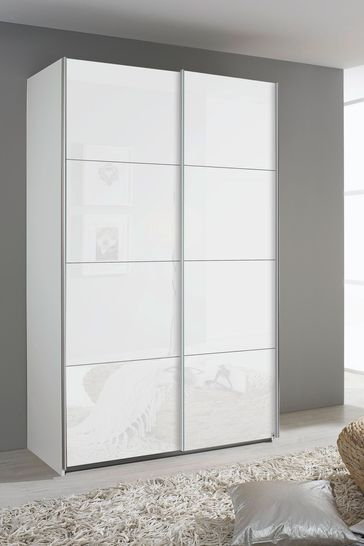 Courtney 1.36 Sliding Wardrobe By Rauch