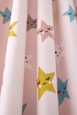 Cosatto Happy Stars Pencil Pleat Curtains