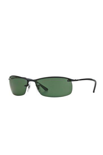 Ray-Ban® Black Visor Lens Sunglasses