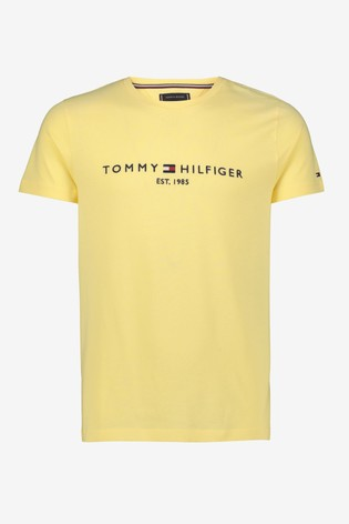Tommy Hilfiger Yellow Tommy Logo T-Shirt
