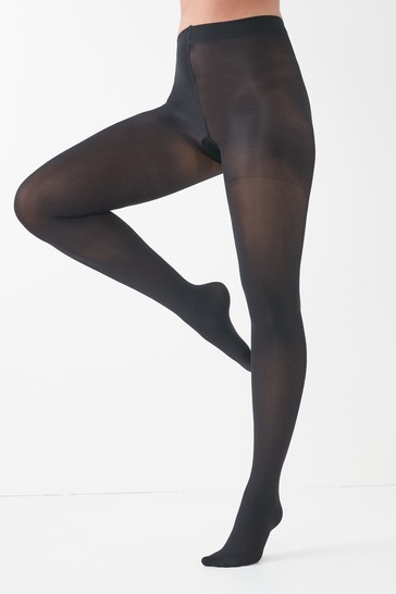 Black 60 Denier Compression Tights