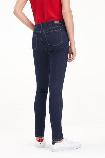 Tommy Jeans Blue Steffie Como Skinny Jean