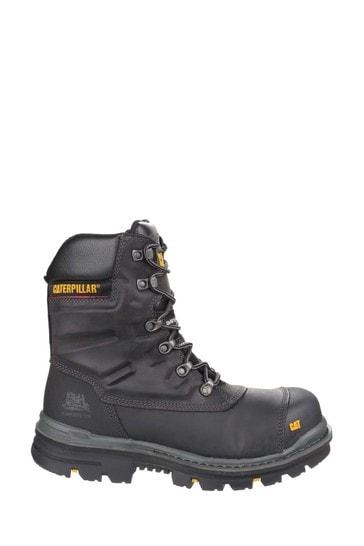 CAT Black Premier Waterproof Safety Boots