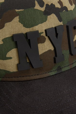 Camouflage NYC Cap (Older)