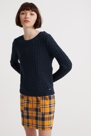 Superdry Becky Cable Knit Jumper