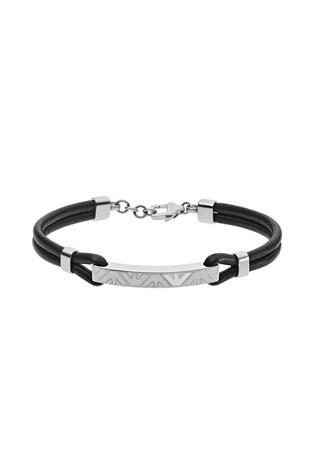 Black Emporio Armani Bangle Bracelet