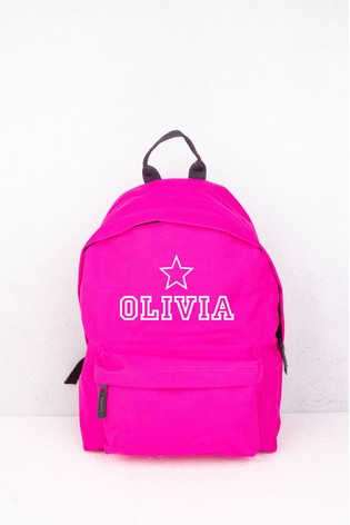 Personalised Star Backpack by Loveabode