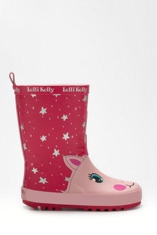 Lelli Kelly Unicorn Wellies