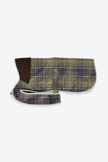 Barbour® Dog Tartan Waterproof Reflective Dog Coat