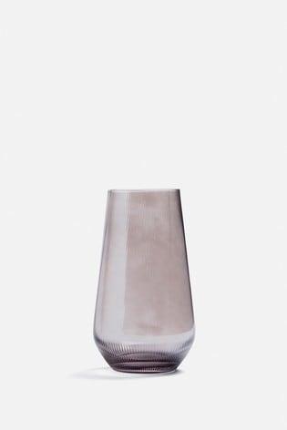 Medium Smoke Glass Vase