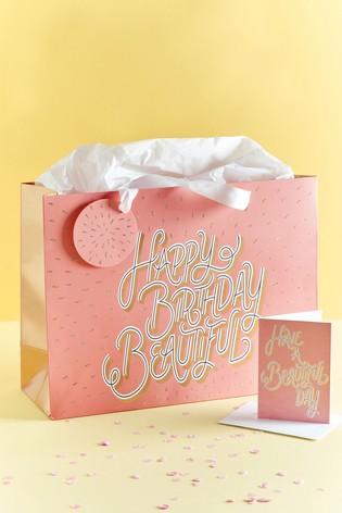 Beautiful Birthday Gift Bag