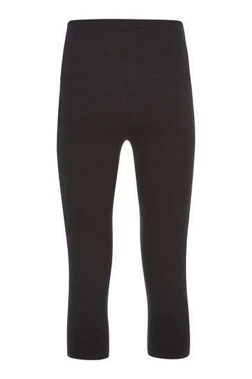 Mint Velvet Black Cropped Leggings