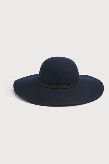 L.K.Bennett Kendall Navy Hat
