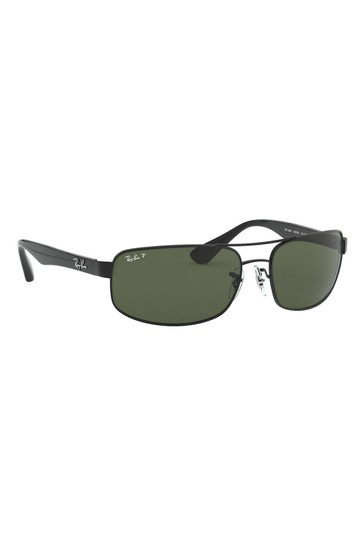 Ray-Ban® Black RB3445 Sunglasses