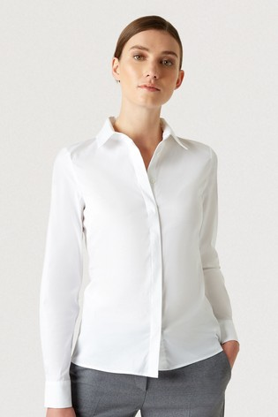 Hobbs White Victoria Shirt