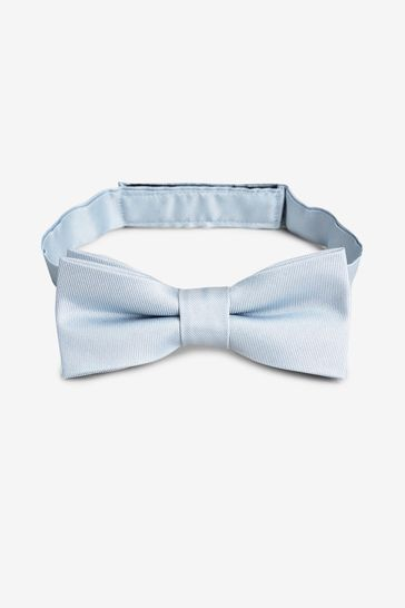 Blue Silk Bow Tie (1-16yrs)
