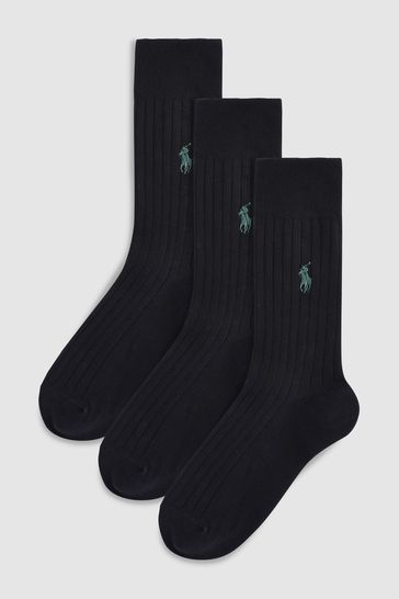 Polo Ralph Lauren® Egyptian Cotton Sock Three Pack