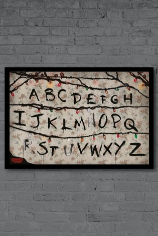 Pyramid International Stranger Things Framed Poster