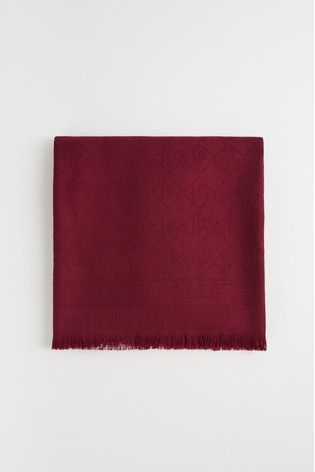 Ted Baker Beetrix Ted Mono Long Scarf