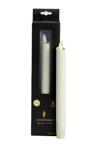 Luminara Living Flame Taper Candle