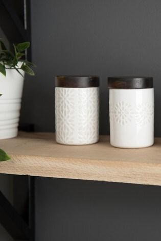 Set of 4 Artisan Street Mini Storage Jar Set