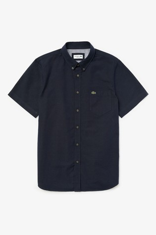 Lacoste® Short Sleeve Oxford Shirt