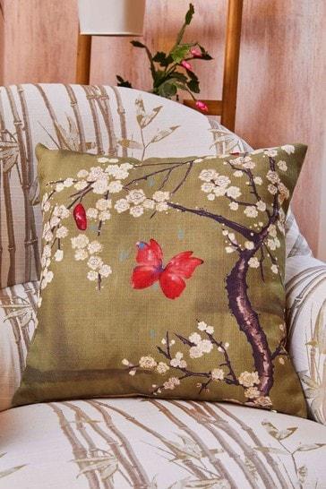 The Chateau by Angel Strawbridge Blossom Digi Cushion