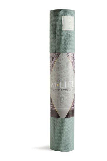 M.Life Beginners Yoga Mat 4mm