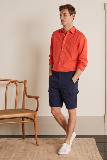 Boden Blue Cargo Shorts
