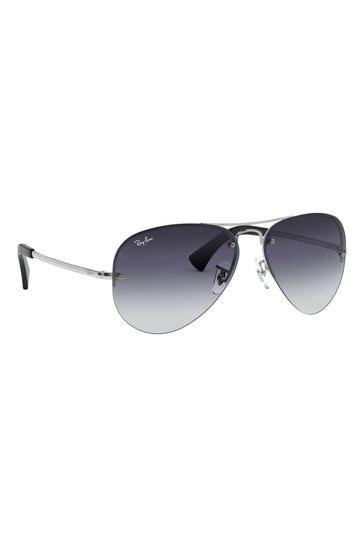 Ray-Ban® Black Gradient RB3449 Sunglasses