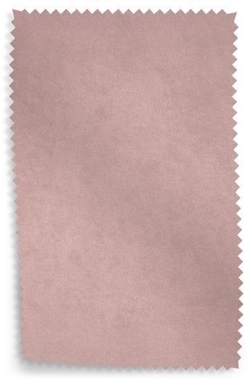Opulent Velvet Blush Upholstery Fabric Sample