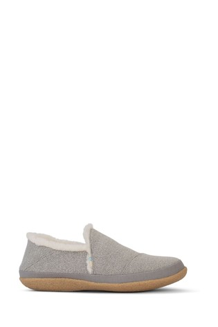 Toms Grey India Slippers