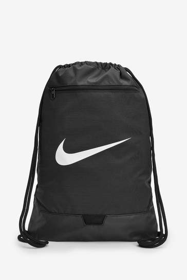 Nike Brasilia Black Gym Sack