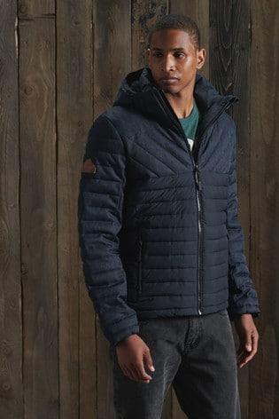 Superdry Tweed Mix Fuji Jacket
