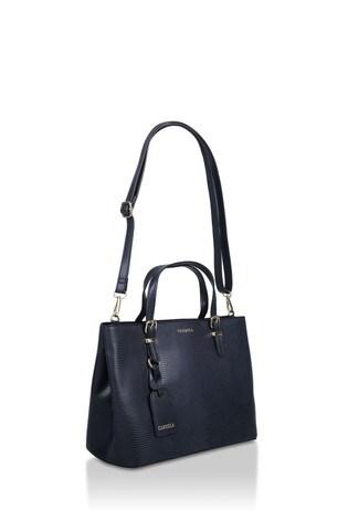 Carvela Blue Mini Hooper Slouch Tote Bag