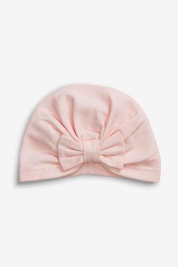 Pink Turban (0-18mths)
