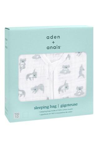 aden + anais Now + Zen Light Sleeping Bag 1.0 Tog Cotton Muslin
