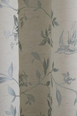 Curtina Bird Trail Pencil Pleat Curtains