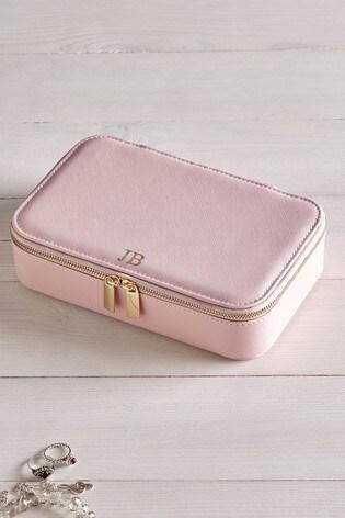 Personalised Pink Jewellery Box