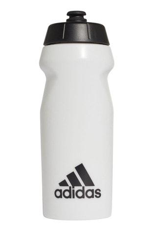 adidas White 0.5L Water Bottle