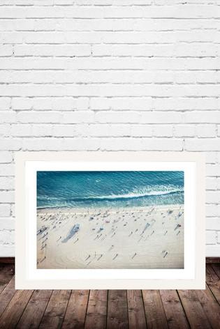 Salty Air by Honeymoon Hotel Framed Print